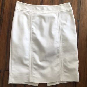 White House | Black Market off white skirt size 10